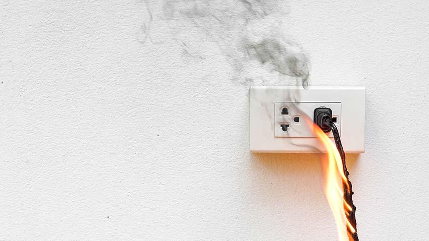 Los cables frente al fuego
